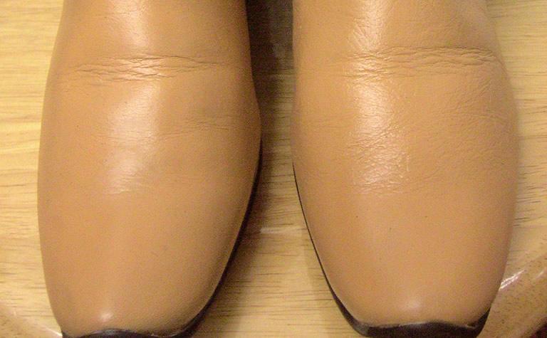 靴のシミAfter